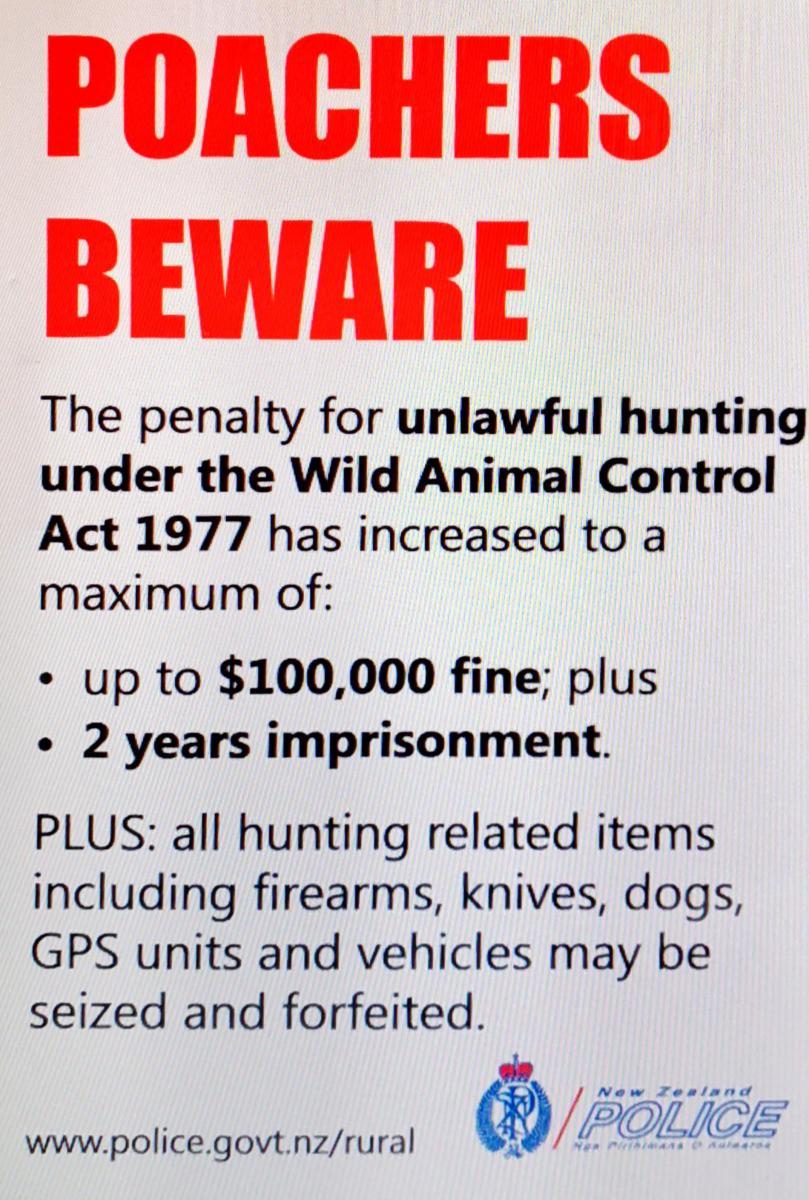 Poacher Poster